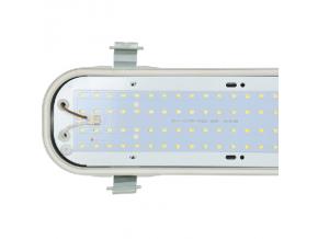 LED zářivkové těleso 150cm 80W vodotěsné a prachotěsné Denní bílá