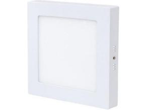 bílý přisazený LED panel 175 x 175mm 12W denní bílá