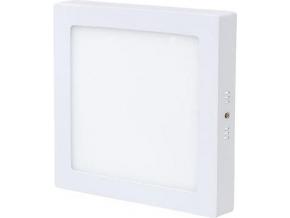 Bílý přisazený LED panel 225 x 225mm 18W bílá