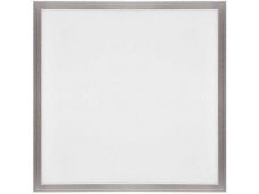 Stříbrný podhledový LED panel 600 x 600mm 45W denní bílá 6300lm