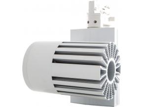 Bílý 3-fázový lištový LED reflektor 40W denní bílá