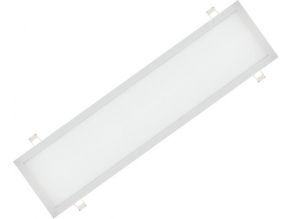 1000 White with springs LED panel 300 x 1200mm 48W 6000K 1 NIC