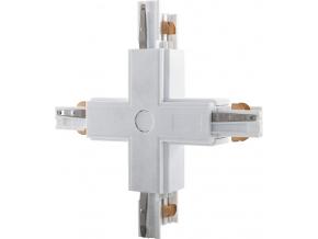 X spojka 3F pro třífázovou lištu barva bílá