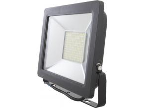 Černý LED reflektor 50W city 5000K denní bílá