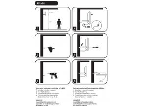 Černý LED reflektor 100W extra 5000K