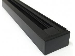 Černý 1-fázový lištový systém 2m