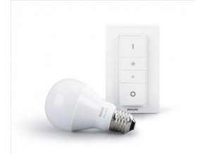Philips HUE LED žárovka 9,5W E27 806lm 2700K + dimmer sWitch