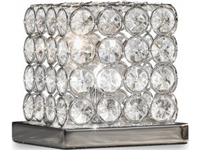 Ideal lux LED admiral tl1 cromo lampa stolní 4,5W 80376