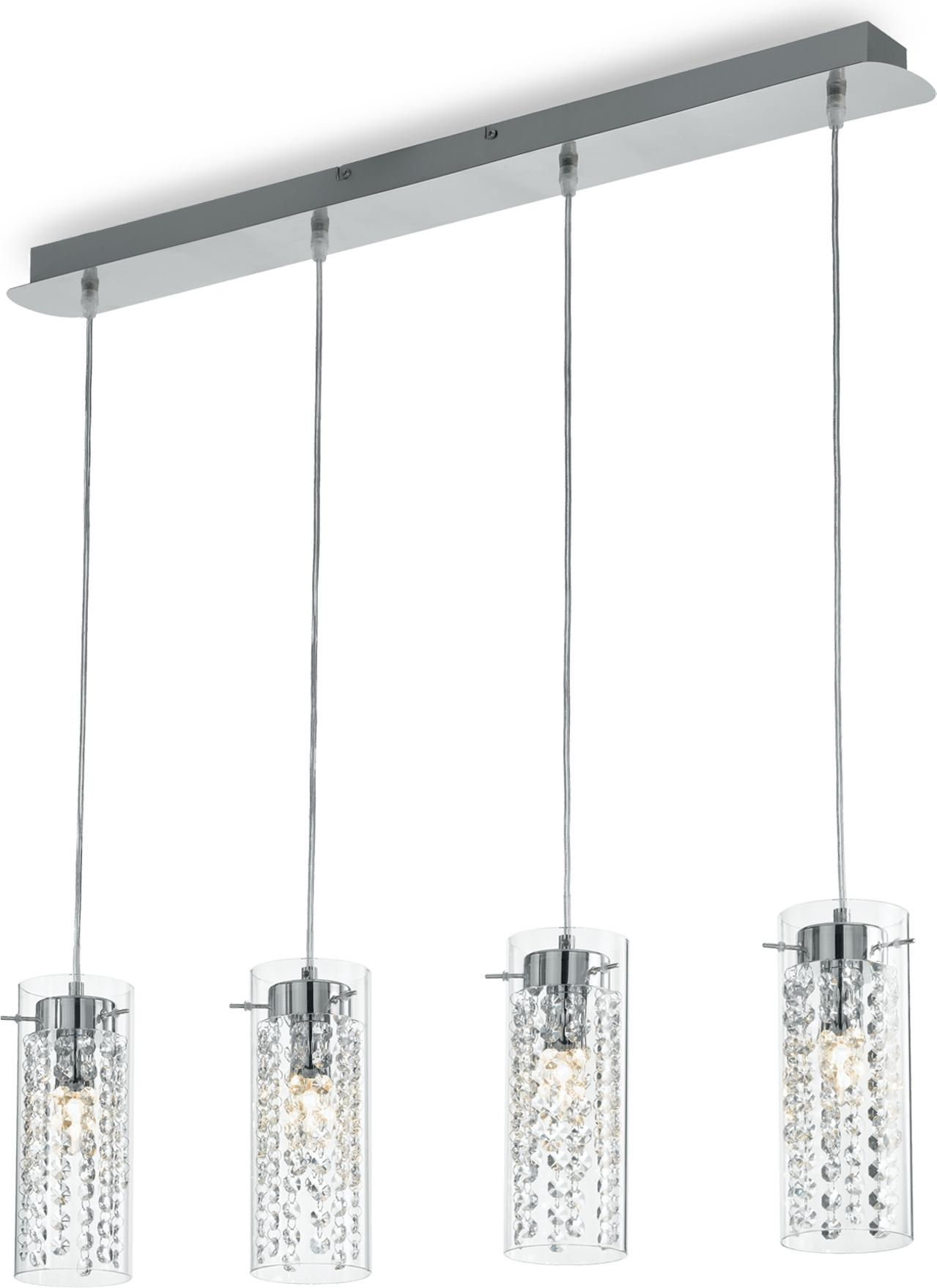 Ideal lux LED iguazu sp4 Pendelleuchten 4x5W 52373