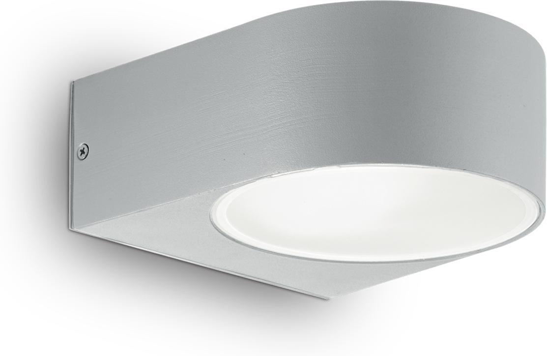 Ideal lux LED iko ap1 grigio Wandleuchte 5W 92218