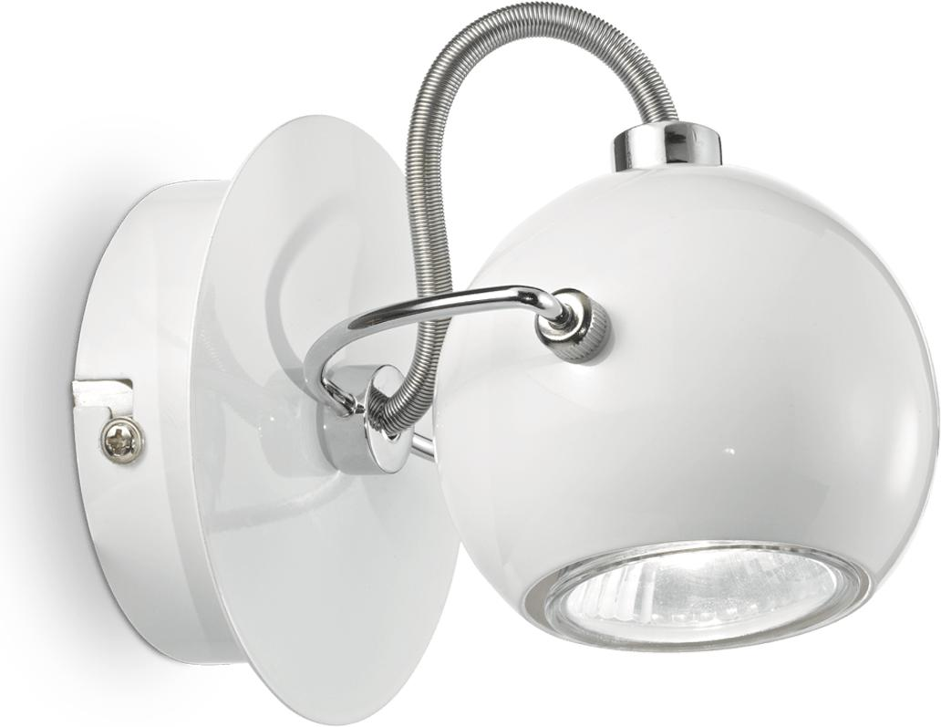 Ideal lux LED lunare ap1 bianco spotlicht 5W 77888