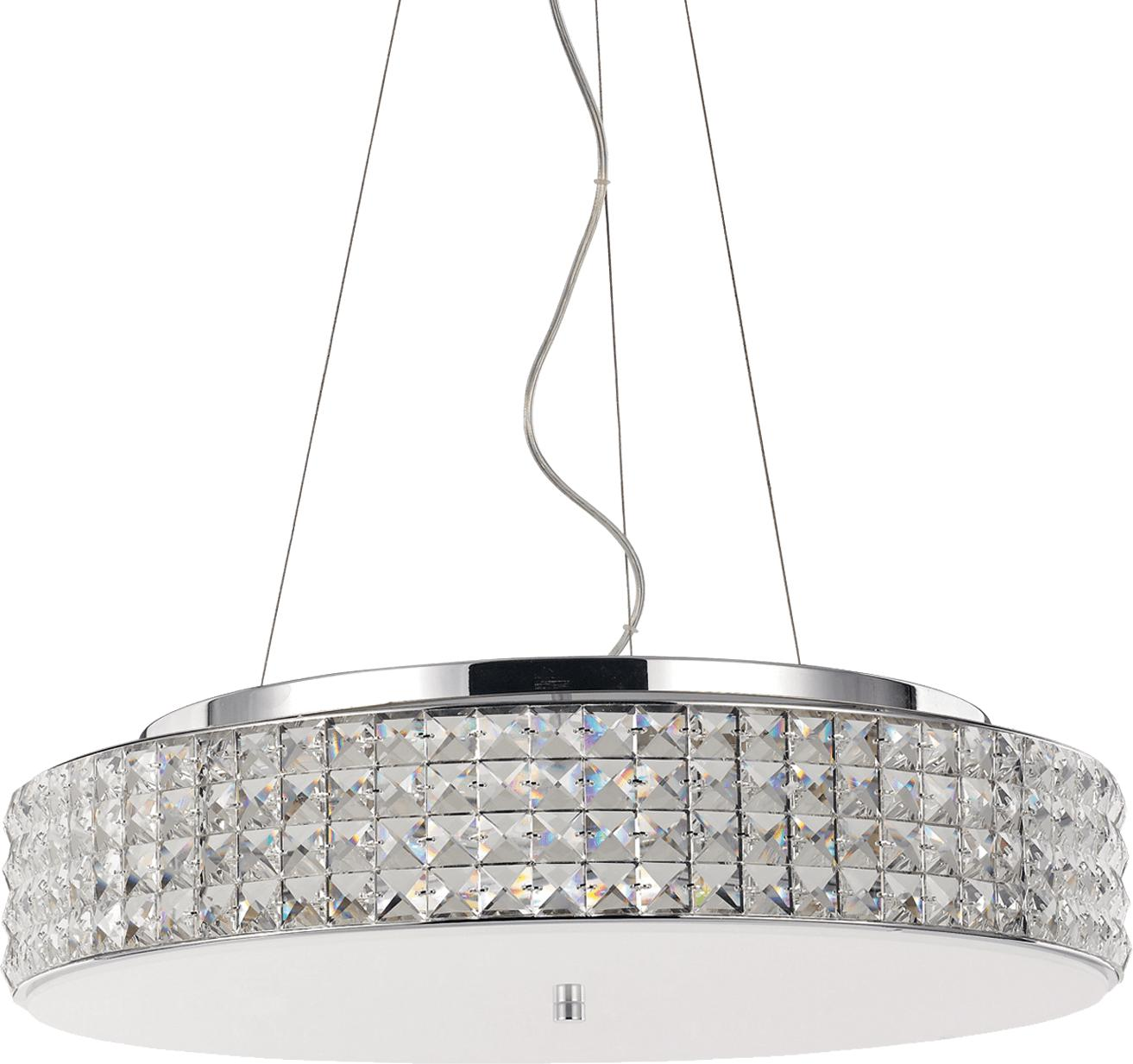 Ideal lux LED roma sp9 Pendelleuchten 9x4,5W 93048