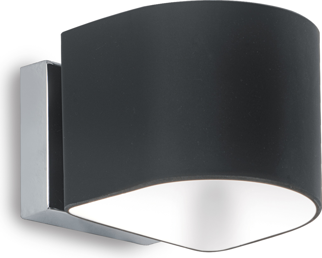 Ideal lux LED puzzle ap1 nero Wandleuchte 4,5W 35192