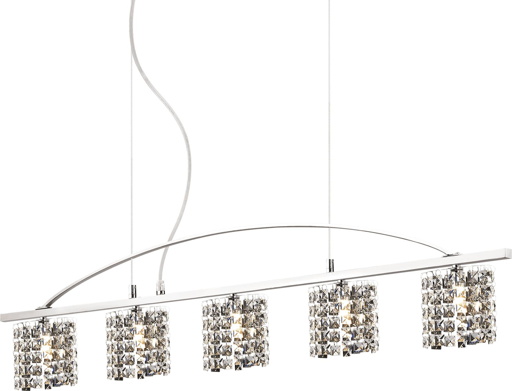 Ideal lux LED spirit sp5 Pendelleuchten 5x4,5W 68398