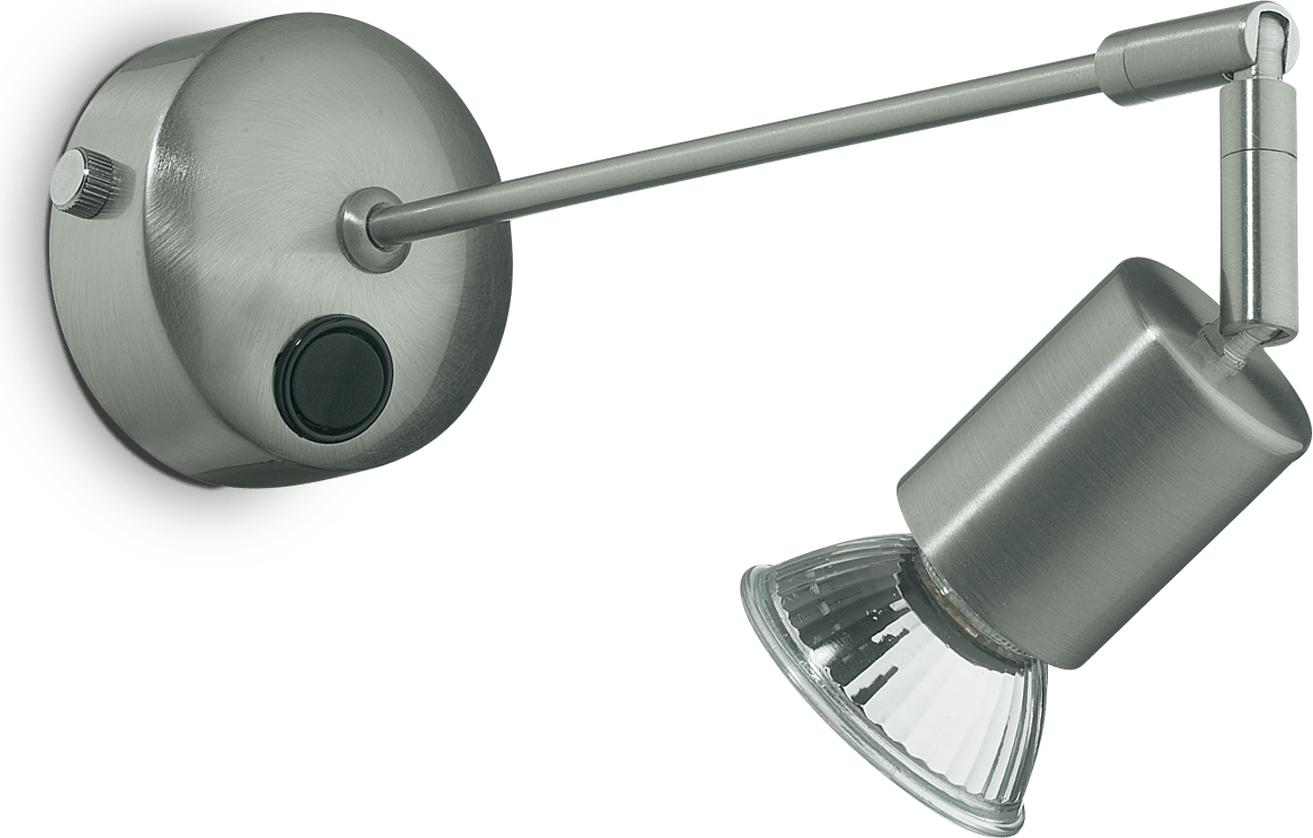 Ideal lux LED strale ap1 nickel Wandleuchte 5W 13183