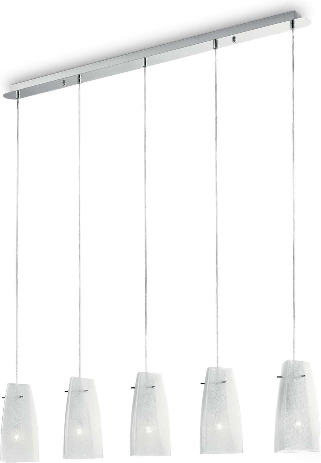 Ideal lux LED sugar sp5 Pendelleuchten 5x5W 90764