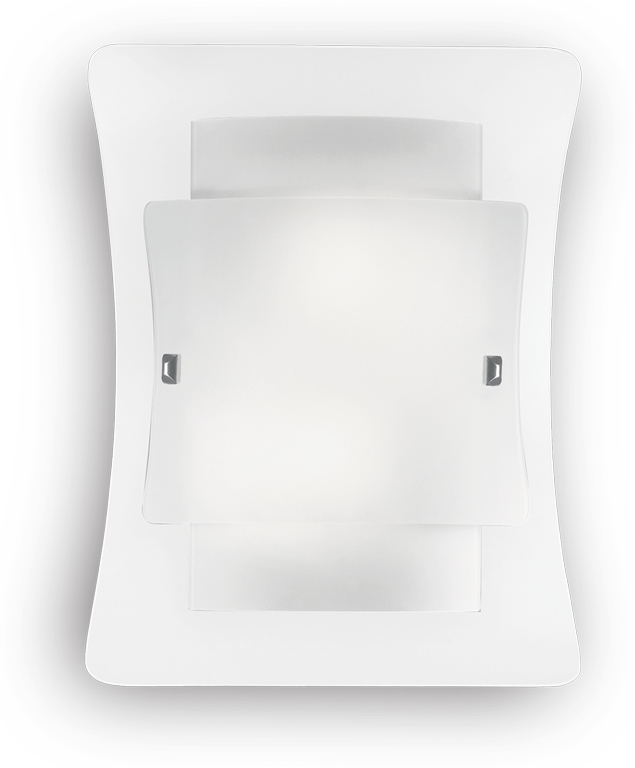 Ideal lux LED triplo ap2 Wandleuchte 2x5W 26480
