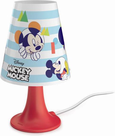 Philips LED mickey mouse tischlampe 2,3w sel 71795/30/16