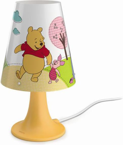 Philips LED winnie the pooh tischlampe 2,3w 71795/34/16