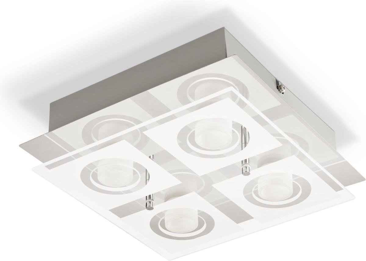 Philips LED polygon Deckenleuchten 4x4,3w 39519/11/P1