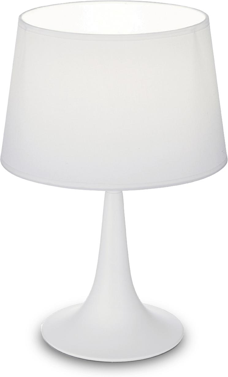 Ideal lux LED London small bianco lampa stolná 5W 110530