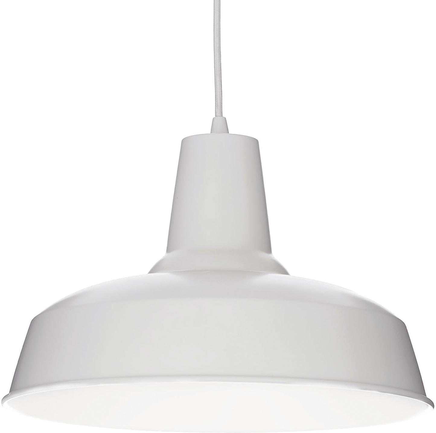 Ideal lux LED moby sp1 bianco Pendelleuchten 5W 102047