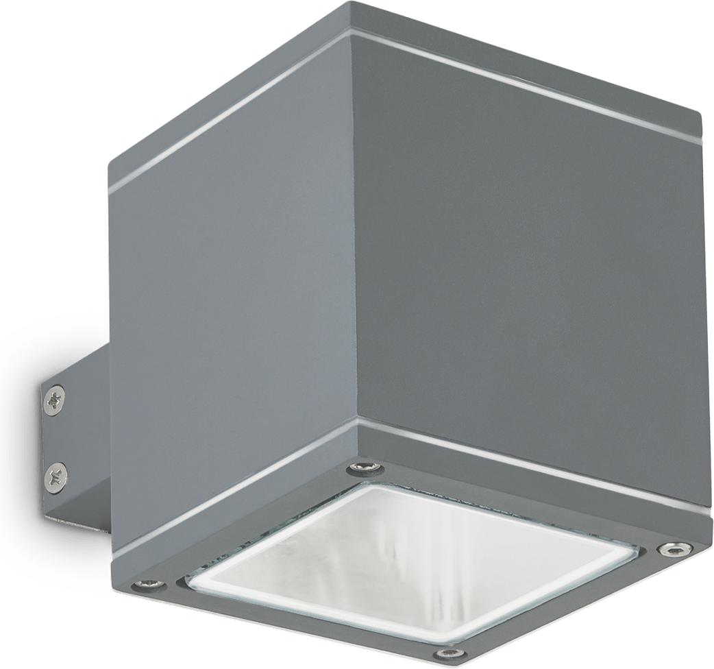 Ideal lux LED snif ap1 square antracite Wandleuchte 4,5W 121963