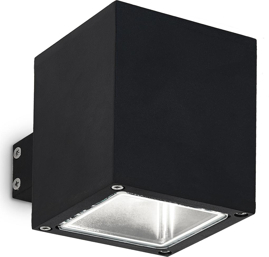 Ideal lux LED snif ap1 square nero Wandleuchte 4,5W 123080