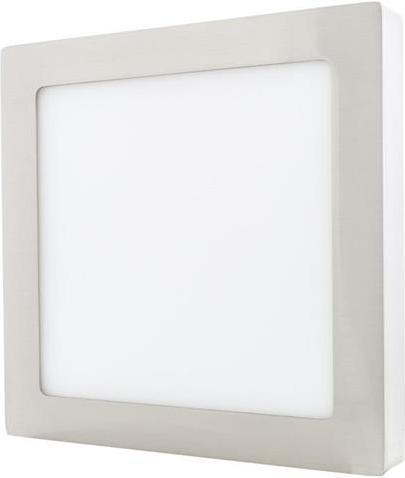 Chrom Oberflächenmontage LED panel 225 x 225mm 18W Tageslicht