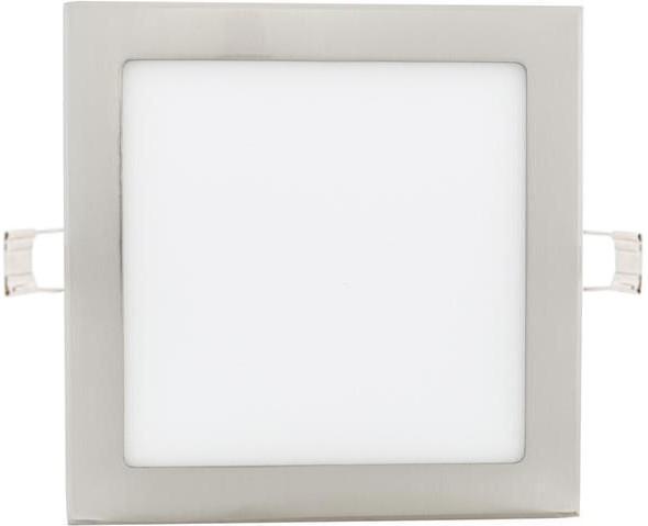 Chrom Einbau-Panel 225 x 225mm 18W Tageslicht