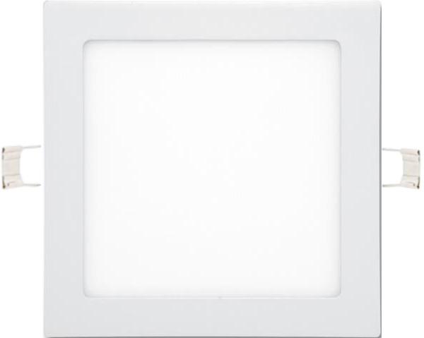 Biely vstavaný LED panel 225 x 225mm 18W biela