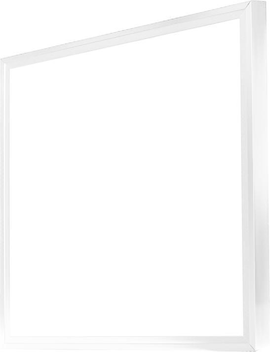 Stmievateľné biely LED panel s rámčekom 600 x 600mm 48W teplá biela