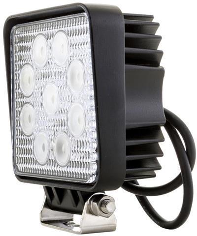 Hranaté LED pracovné svetlo 27W 10-30V