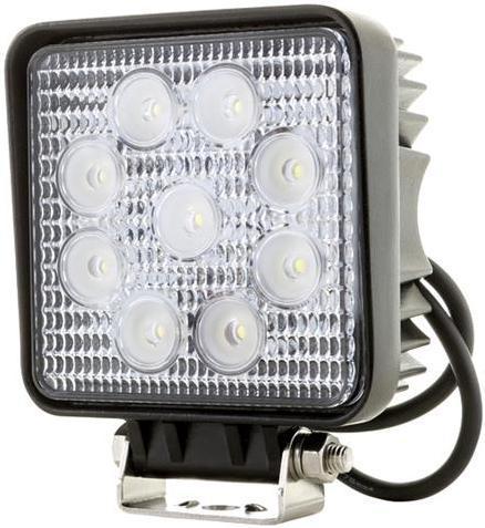 Hranaté LED pracovné svetlo 27W 10 30V