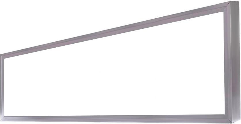Strieborný LED panel s rámčekom 300 x 1200mm 45W neutrálna biela