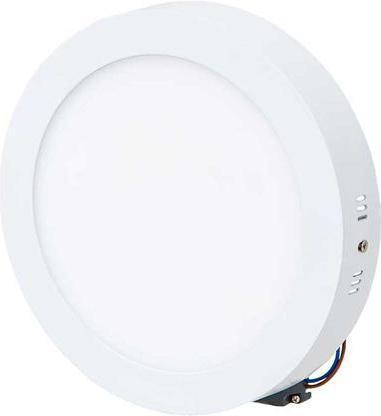 Biely prisadený LED panel 225mm 18W biela