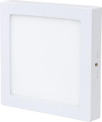 Biely prisadený LED panel 225 x 225mm 18W biela