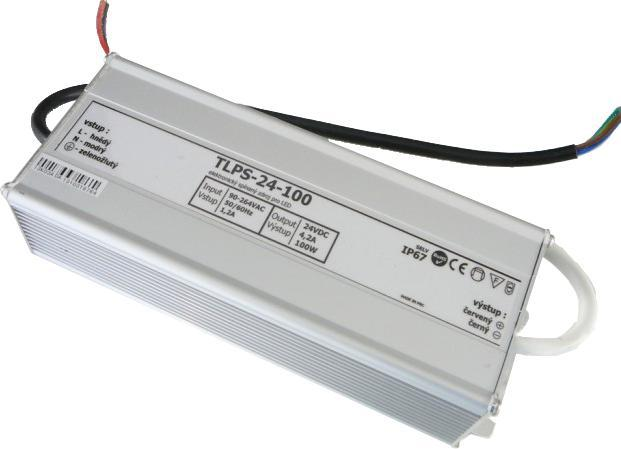 Outdoor Power Quelle 24V 4,2A 100W IP67