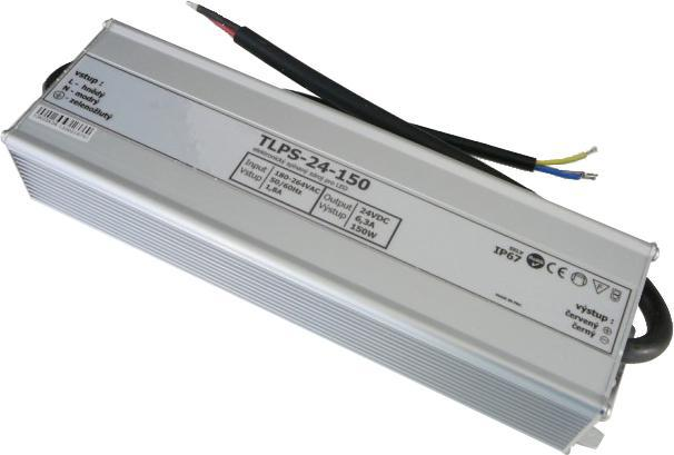 Outdoor Power Quelle 24V 6,3A 150W IP67