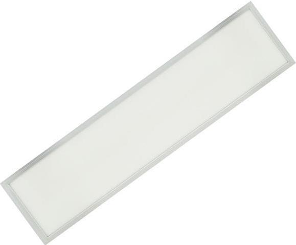 Stmievateľné strieborný podhľadový LED panel 300 x 1200mm 48W studená biela