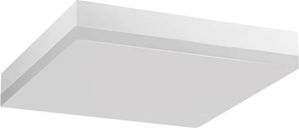 Biele LED svietidlo stropné smart s štvorec 18W studená biela