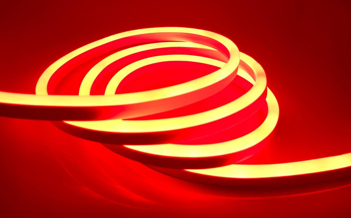 LED NEON pásik 9W/m červená