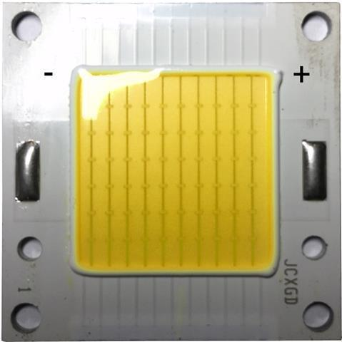 LED COB chip 50W Warmweiß