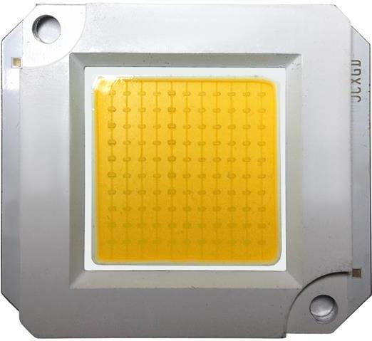 LED COB čip pre reflektor 60W teplá biela