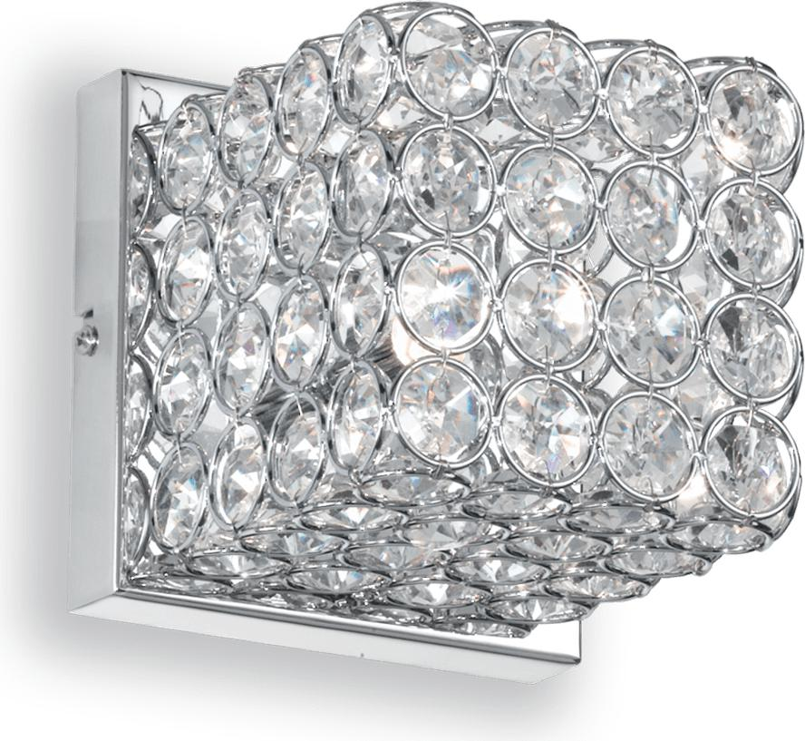 Ideal lux LED admiral ap1 cromo Wandleuchte 4,5W 80284
