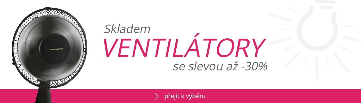 Ventilátory skladem se slevou až -30%