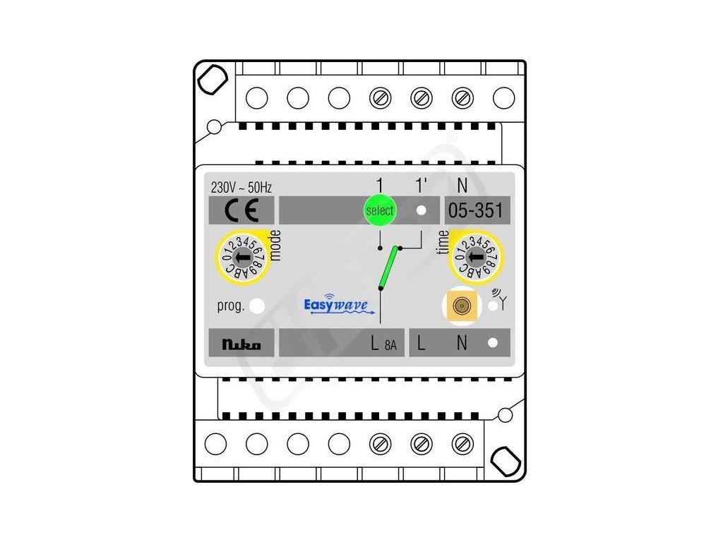 Řídicí jednotky osvětlení pro sběrnicové systémy