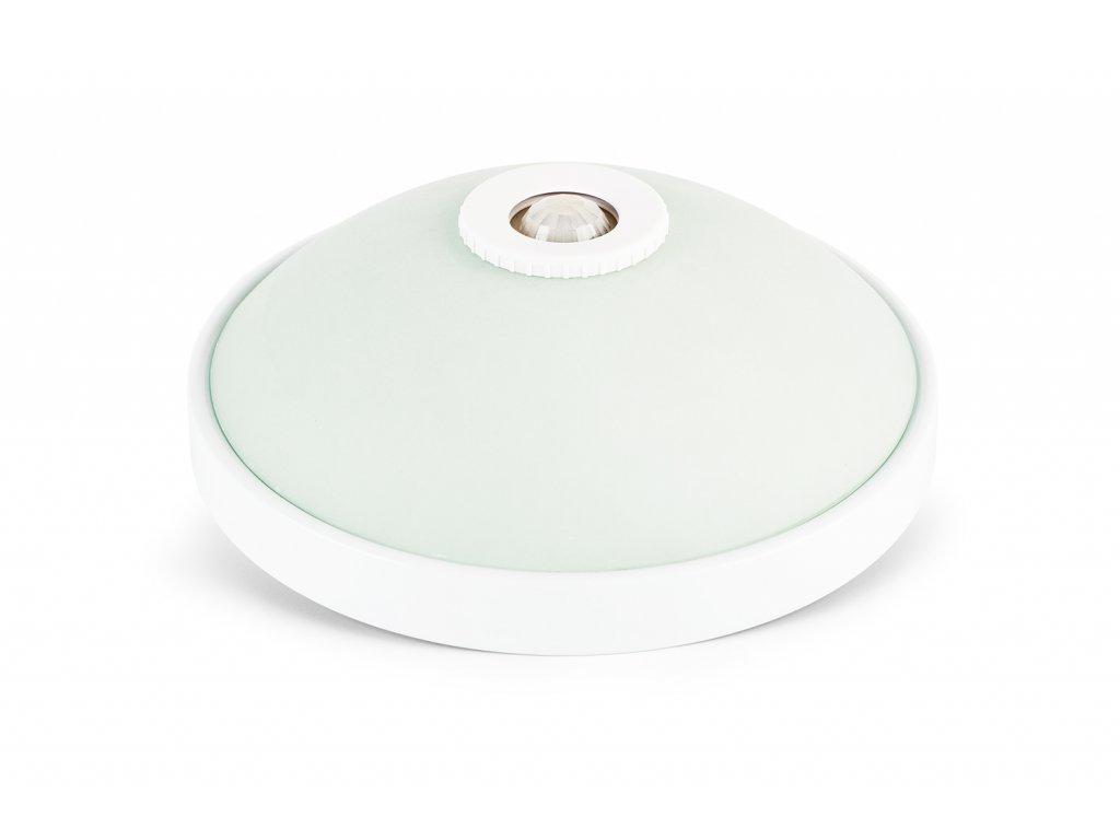 BERGE LED stropní svítidlo s pohybovým čidlem PIR PL005 - 9,5 x 27cm - 2x LED žárovky E27