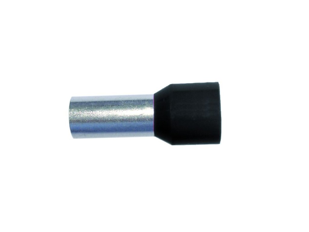 PROTEC Dutinka PAEH 1,50/8mm lisovací černá