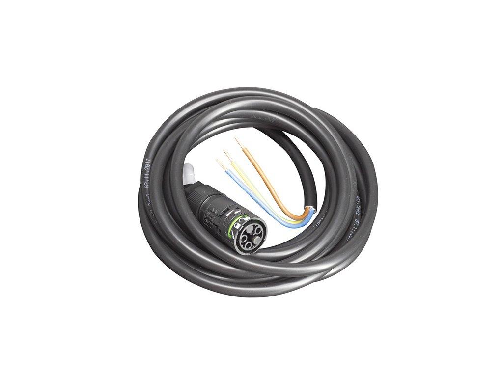 TREVOS Kabel FrF-1x5P 5x1,5 1m připojovací